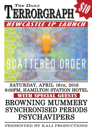 Newcastle Launch poster